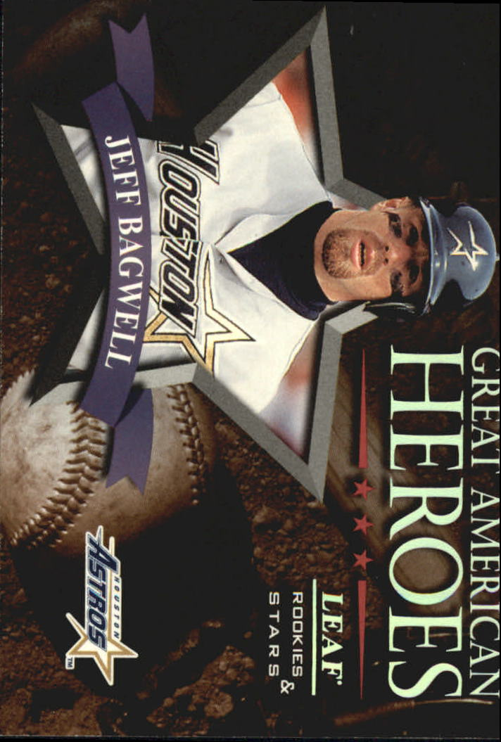 1998 Leaf Rookies and Stars Great American Heroes #9 Jeff Bagwell