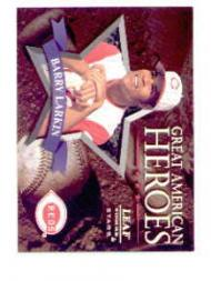 1998 Leaf Rookies and Stars Great American Heroes #19 Barry Larkin