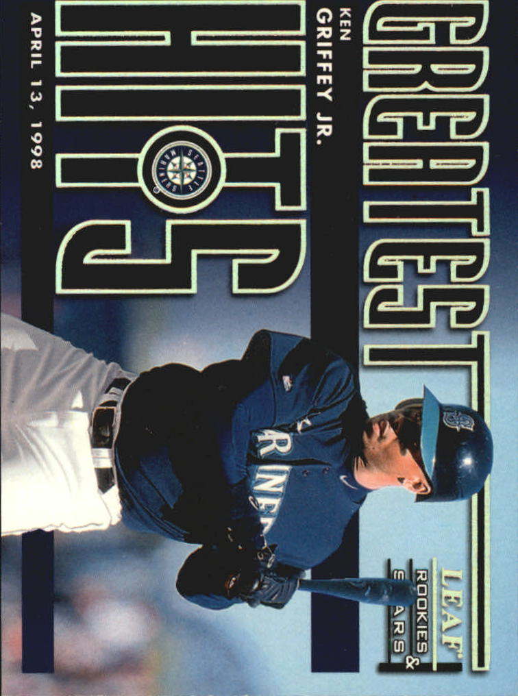 1998 Leaf Rookies and Stars Greatest Hits #1 Ken Griffey Jr.