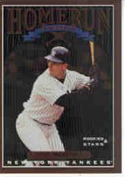 1998 Leaf Rookies and Stars Home Run Derby #1 Tino Martinez
