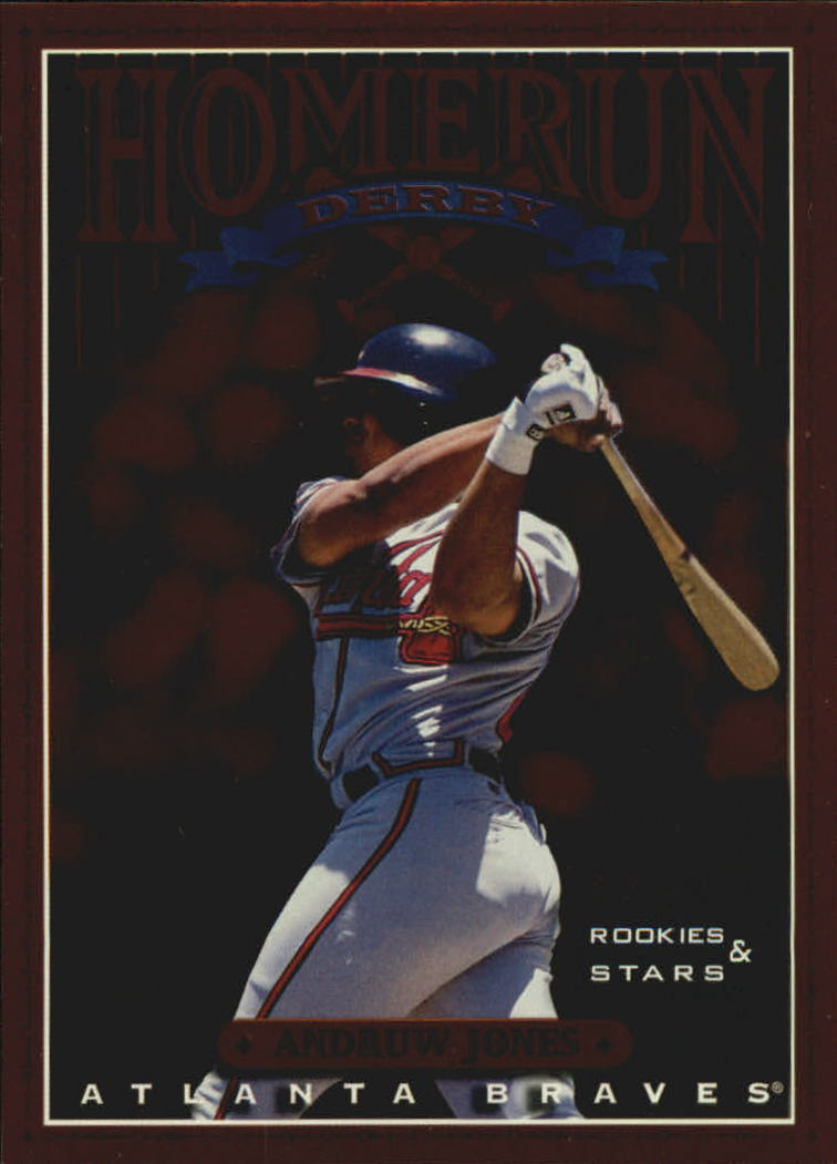 1998 Leaf Rookies and Stars Home Run Derby #12 Andruw Jones