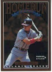 1998 Leaf Rookies and Stars Home Run Derby #16 Chipper Jones