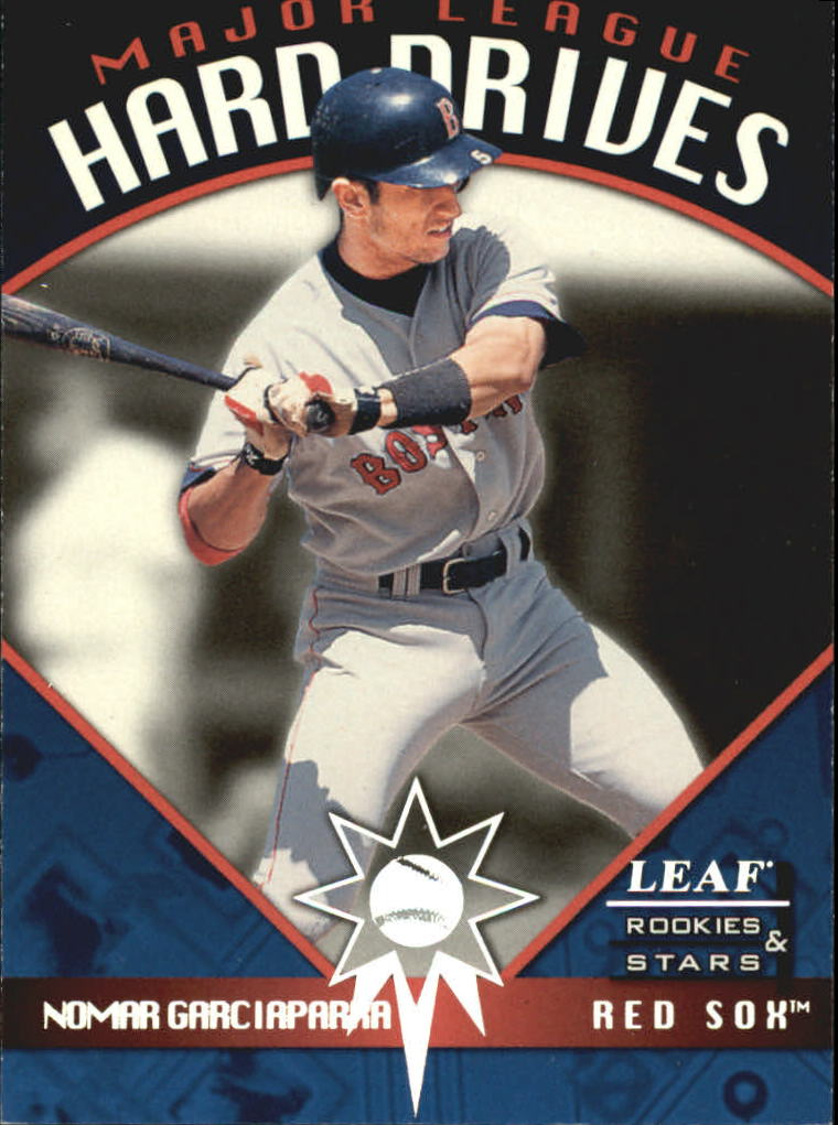 1998 Leaf Rookies and Stars Major League Hard Drives #3 Nomar Garciaparra