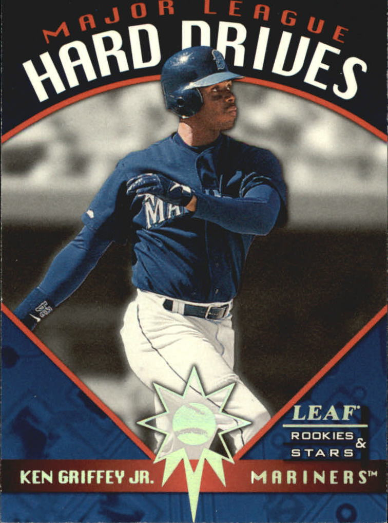 1998 Leaf Rookies and Stars Major League Hard Drives #4 Ken Griffey Jr.