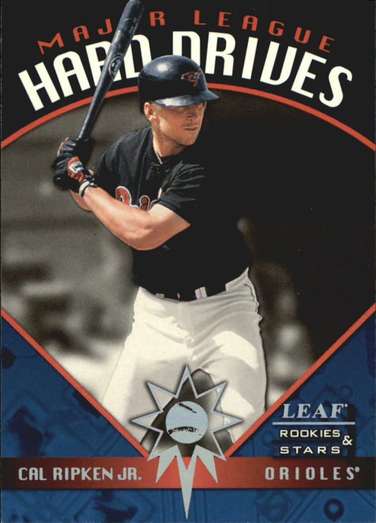 1998 Leaf Rookies and Stars Major League Hard Drives #6 Cal Ripken