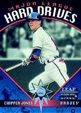 1998 Leaf Rookies and Stars Major League Hard Drives #9 Chipper Jones