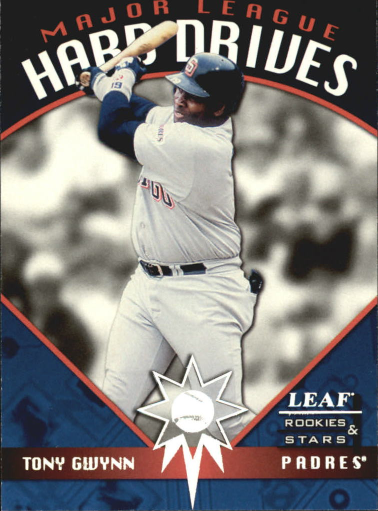1998 Leaf Rookies and Stars Major League Hard Drives #10 Tony Gwynn
