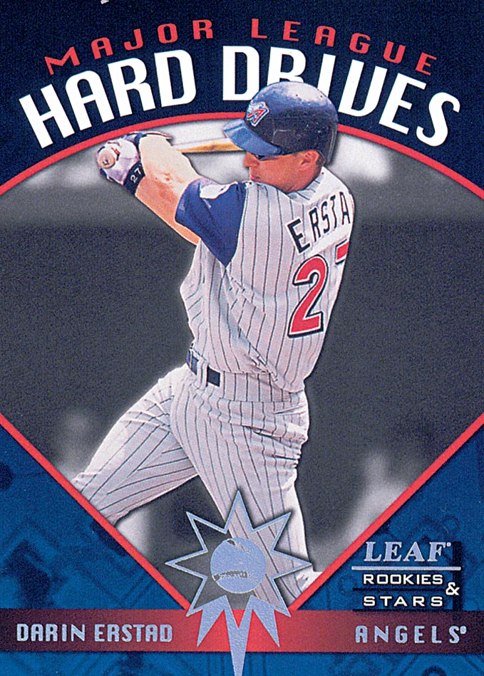 1998 Leaf Rookies and Stars Major League Hard Drives #17 Darin Erstad