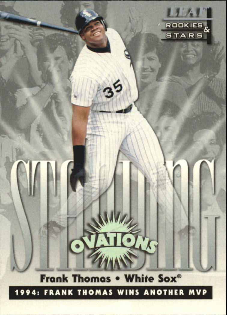 1998 Leaf Rookies and Stars Standing Ovations #4 Frank Thomas
