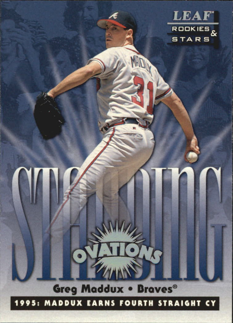 1998 Leaf Rookies and Stars Standing Ovations #7 Greg Maddux