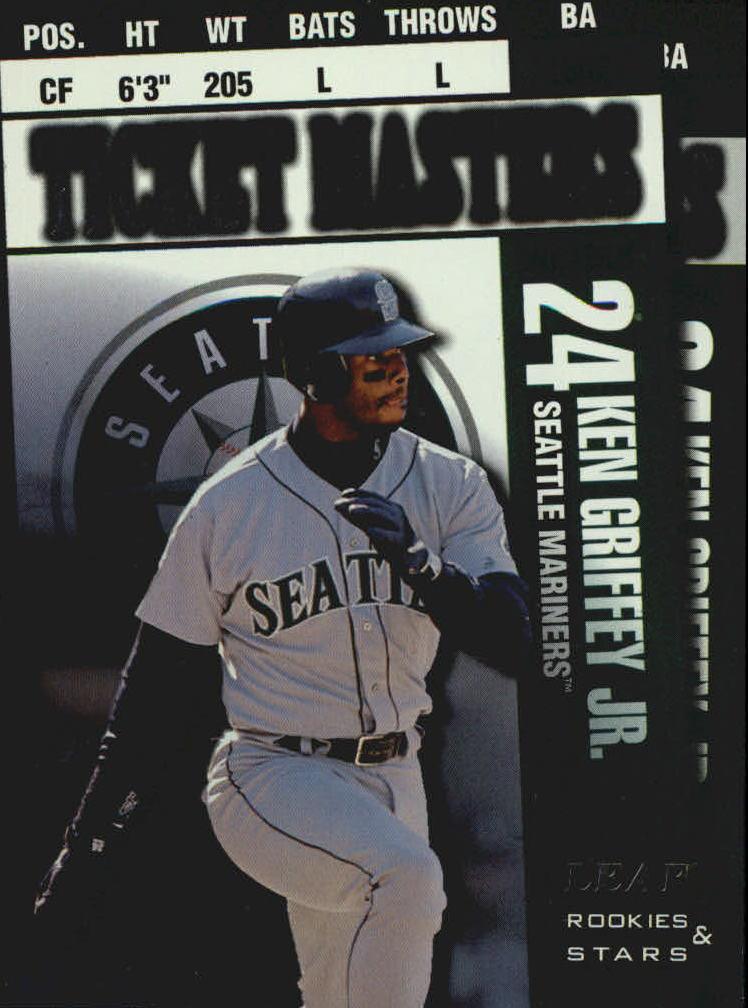1998 Leaf Rookies and Stars Ticket Masters #1 K.Griffey Jr./A.Rodriguez