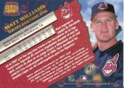 1998 Pacific #81 Matt Williams back image
