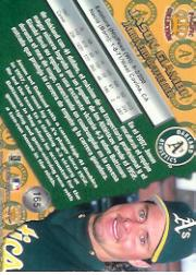 1998 Pacific #165 Jason Giambi back image