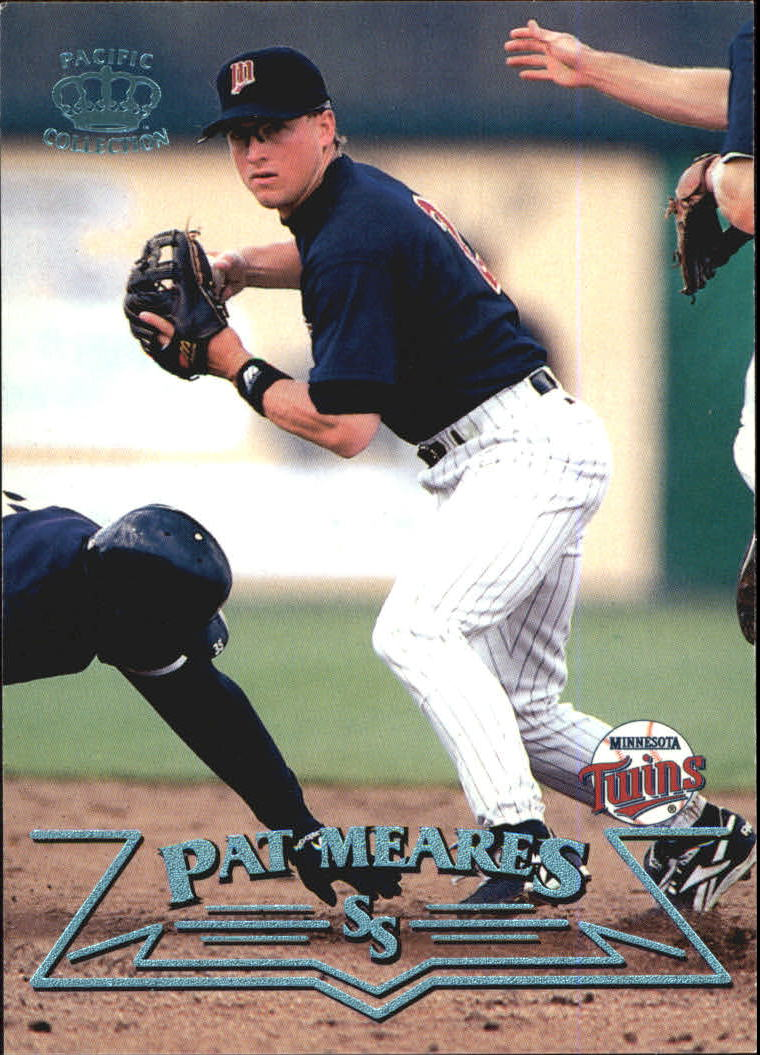 1998 Pacific Platinum Blue #137 Pat Meares