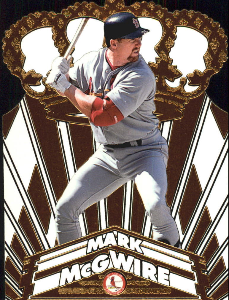 1998 Pacific Gold Crown Die Cuts #26 Mark McGwire