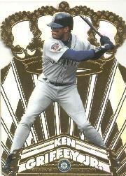 1998 Pacific Gold Crown Die Cuts #29 Ken Griffey Jr.