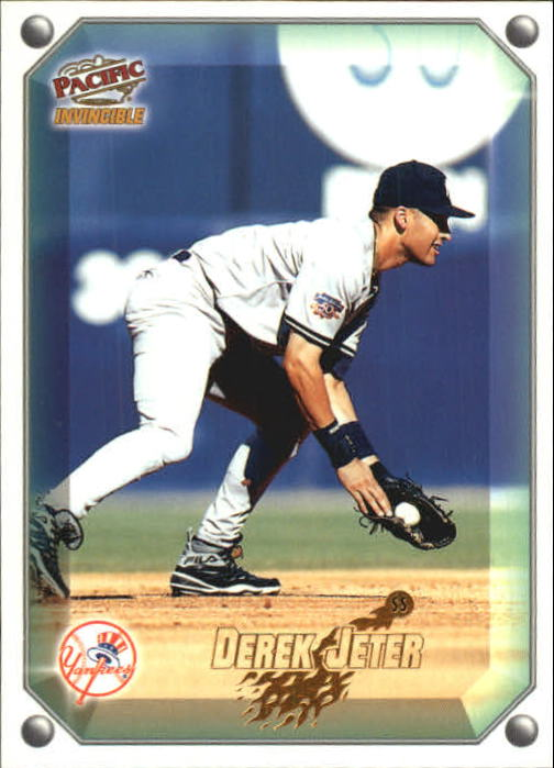 1998 Pacific Invincible Gems of the Diamond #73 Derek Jeter