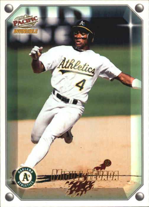 1998 Pacific Invincible Gems of the Diamond #87 Miguel Tejada