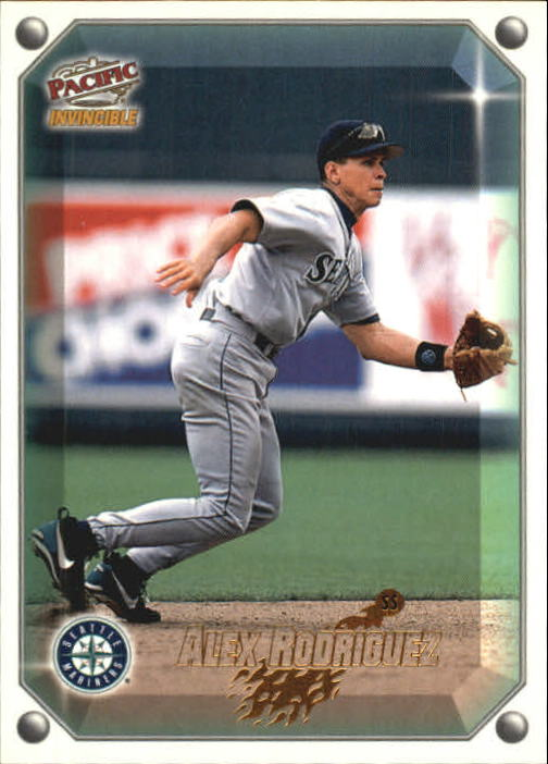 1998 Pacific Invincible Gems of the Diamond #96 Alex Rodriguez
