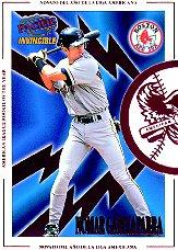1998 Pacific Invincible Interleague Players #3A Nomar Garciaparra