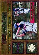 1998 Pacific Invincible Moments in Time #1 Chipper Jones