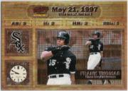 1998 Pacific Invincible Moments in Time #3 Frank Thomas