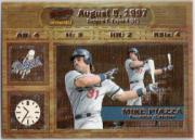1998 Pacific Invincible Moments in Time #10 Mike Piazza