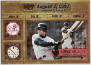 1998 Pacific Invincible Moments in Time #12 Bernie Williams
