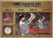 1998 Pacific Invincible Moments in Time #15 Mark McGwire