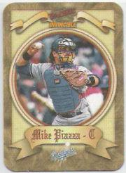 1998 Pacific Invincible Photoengravings #6 Mike Piazza
