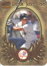 1998 Pacific Invincible Photoengravings #9 Derek Jeter