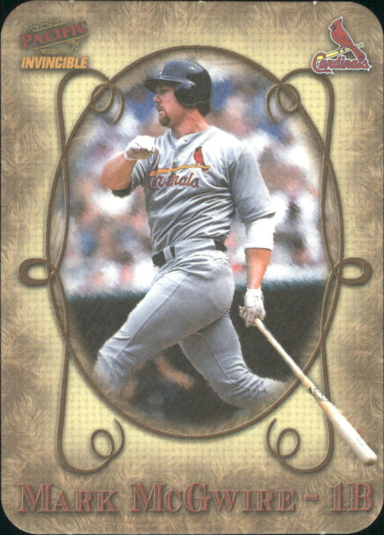 1998 Pacific Invincible Photoengravings #11 Mark McGwire
