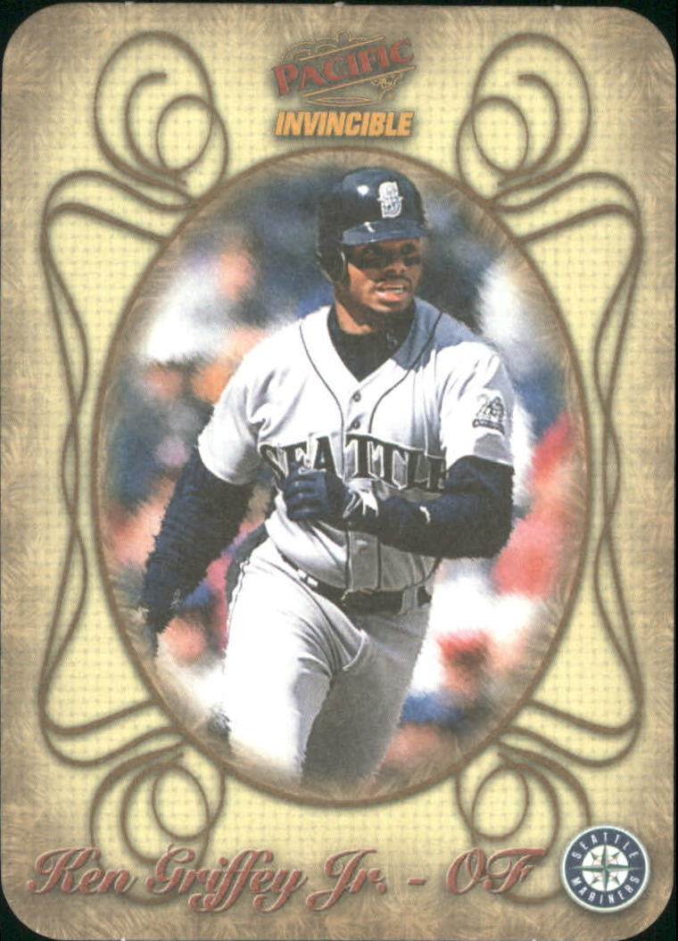 1998 Pacific Invincible Photoengravings #14 Ken Griffey Jr.