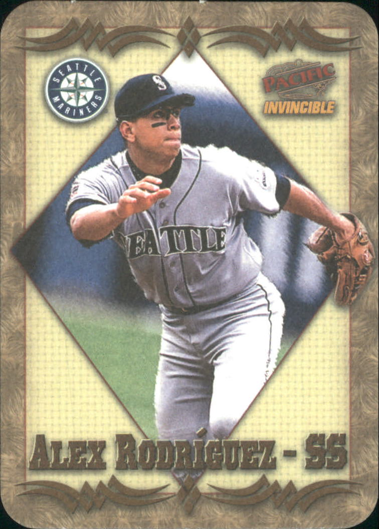 1998 Pacific Invincible Photoengravings #15 Alex Rodriguez