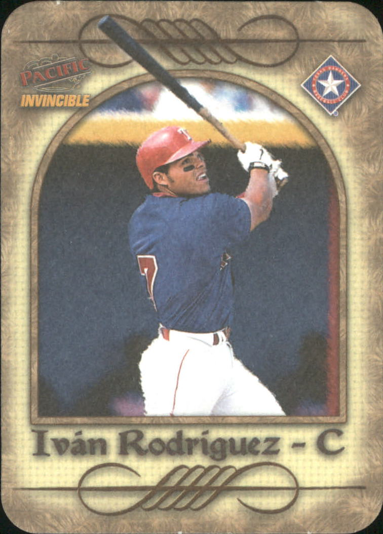 1998 Pacific Invincible Photoengravings #16 Ivan Rodriguez