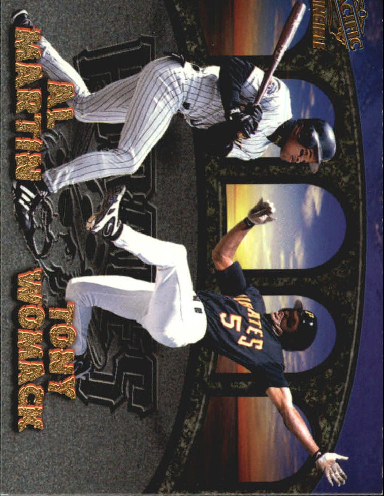 1998 Pacific Invincible Team Checklists #22 J.Guillen/T.Womack