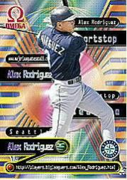 1998 Pacific Omega Online Inserts #15 Alex Rodriguez