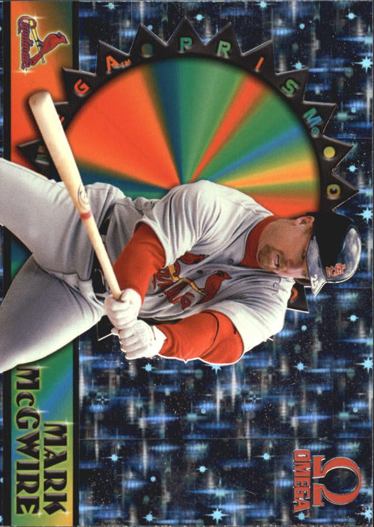 1998 Pacific Omega Prisms #19 Mark McGwire