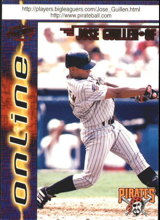 1998 Pacific Online #584 Jose Guillen