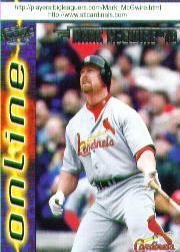 1998 Pacific Online #621A M.McGwire Hitting