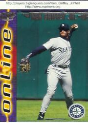 1998 Pacific Online #686 Ken Griffey Jr.*