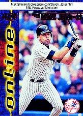 1998 Pacific Online Red #505B D.Jeter Hitting