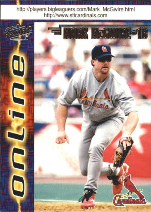 1998 Pacific Online Web Cards #621B Mark McGwire Hitting