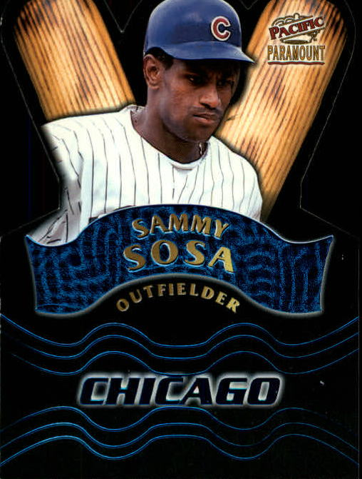 1998 Paramount Team Checklists #17 Sammy Sosa