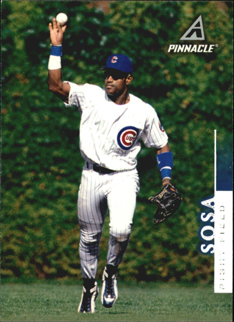 1998 Pinnacle #53 Sammy Sosa