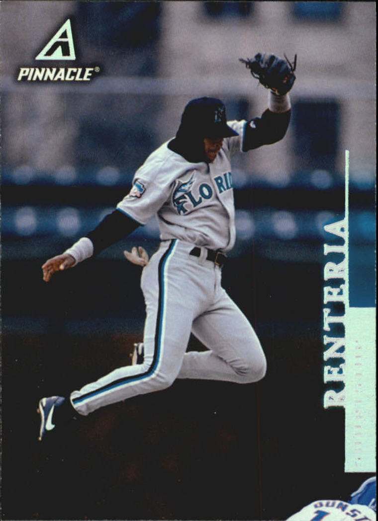 1998 Pinnacle #95 Edgar Renteria
