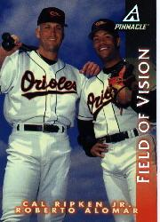 1998 Pinnacle #183 C.Ripken/R.Alomar FV