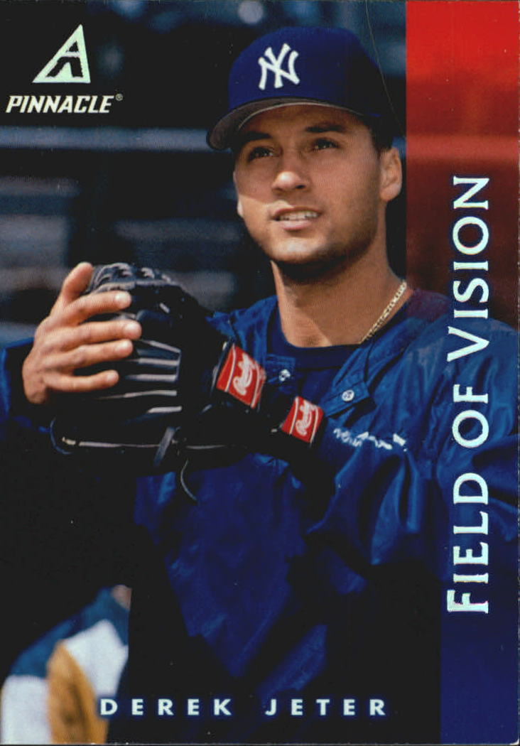 1998 Pinnacle #185 Derek Jeter FV