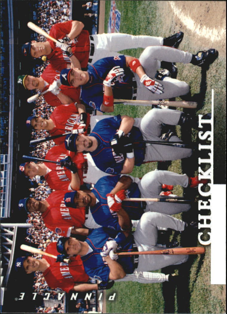 1998 Pinnacle #198 AS HR Contestants CL