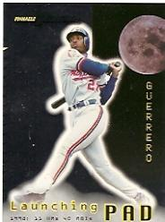 1998 Pinnacle Performers Launching Pad #6 Vladimir Guerrero